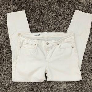 Gap 1969 White Legging Jean - Size 29P